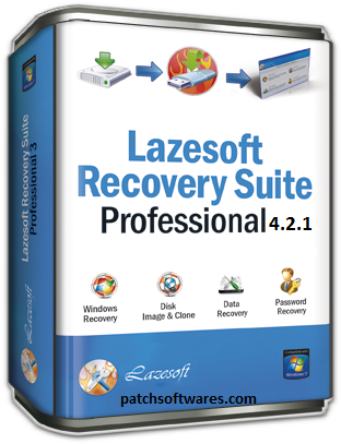 Lazesoft Recovery Suite Professional Edition 4.2.1 Crack Plus Serial Number
