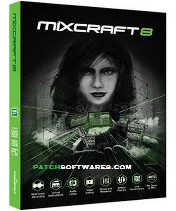 Acoustica Mixcraft Pro 8.0 Build 382 Crack+Activation key Free Download