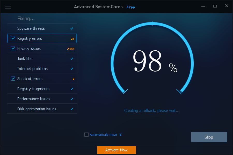 Advanced SystemCare 13.5.0 Crack With Serial Key Download
