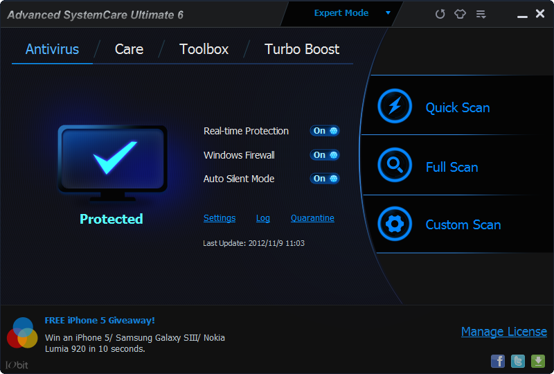 Advanced SystemCare Pro 11.5.0.270 Crack With License Key Free