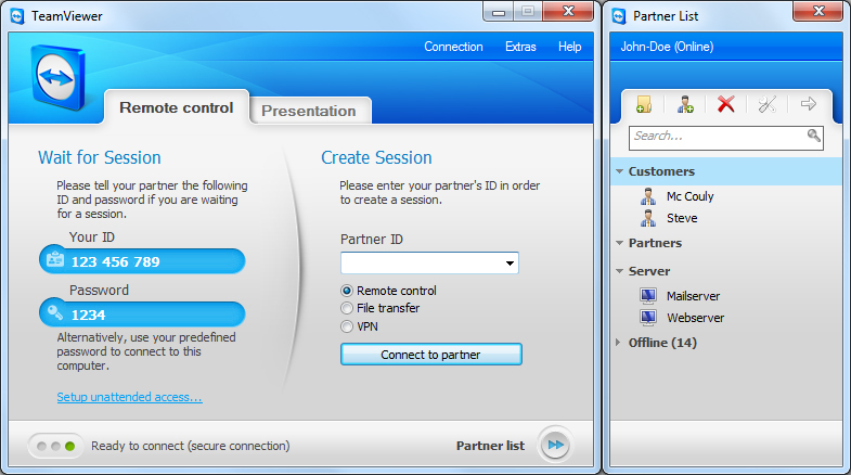TeamViewer 14 Crack With Serial Key and License Key Download Free