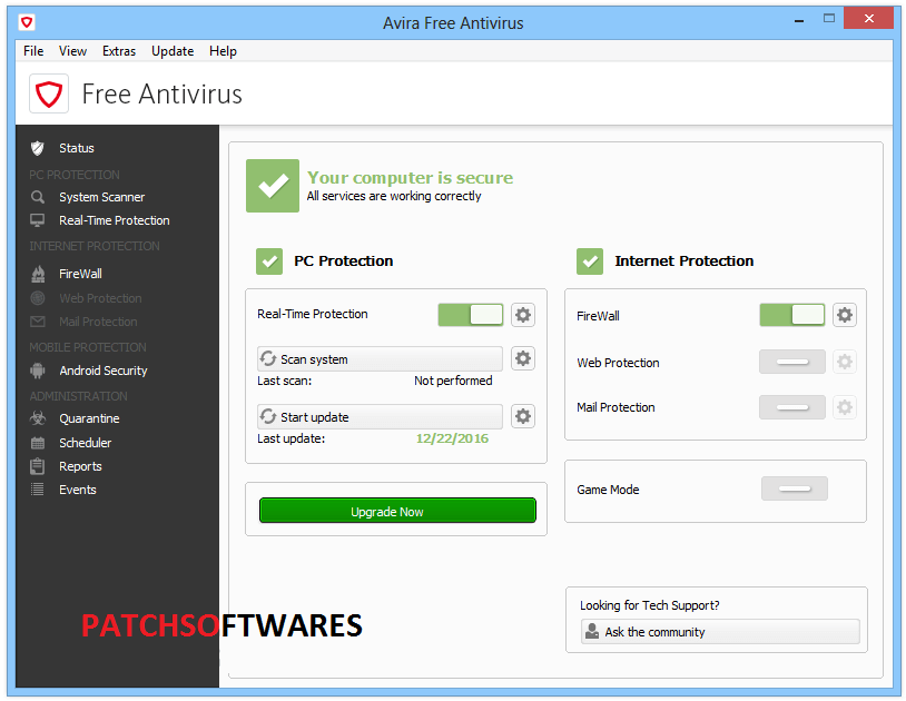 Avira Antivirus Pro 15.0.2002 Crack + License Key Latest Download