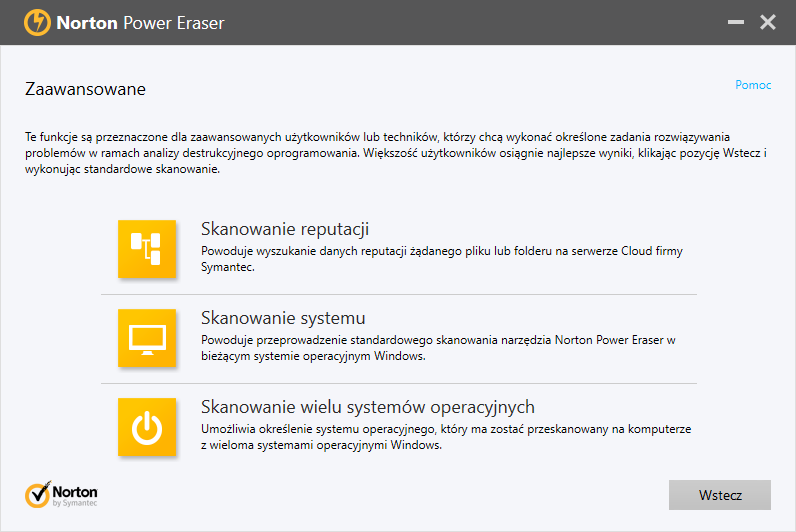 Norton Power Eraser 5.2.0.13