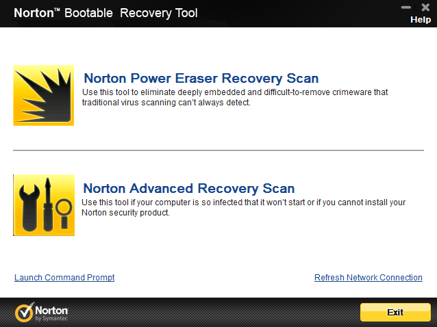 Norton Power Eraser 5.2.0.133