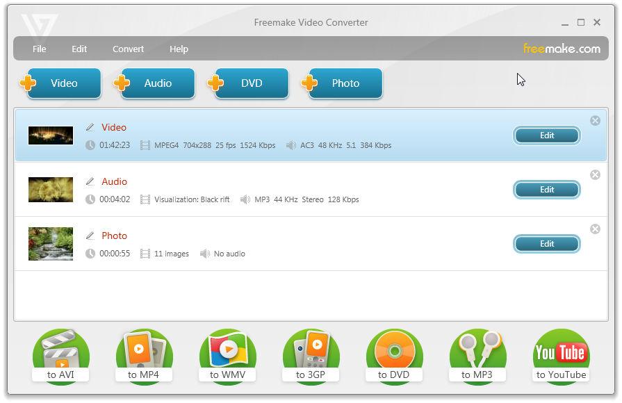 Freemake Video Converter 4.1.10.29